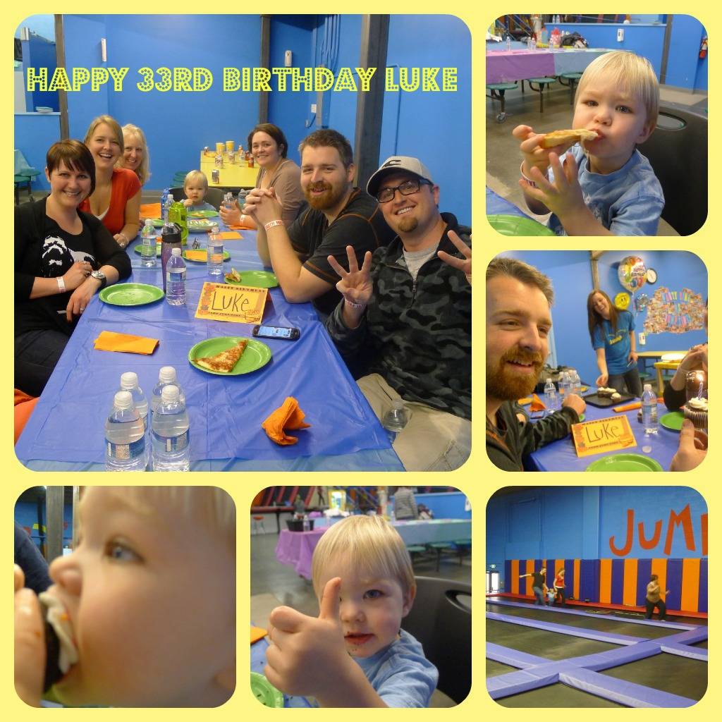 We had a great time and Porter got his fill of non-real food. He would have licked off the icing from every cupcake and got his fill of cheese pizza. The whole thing got a thumbs up.