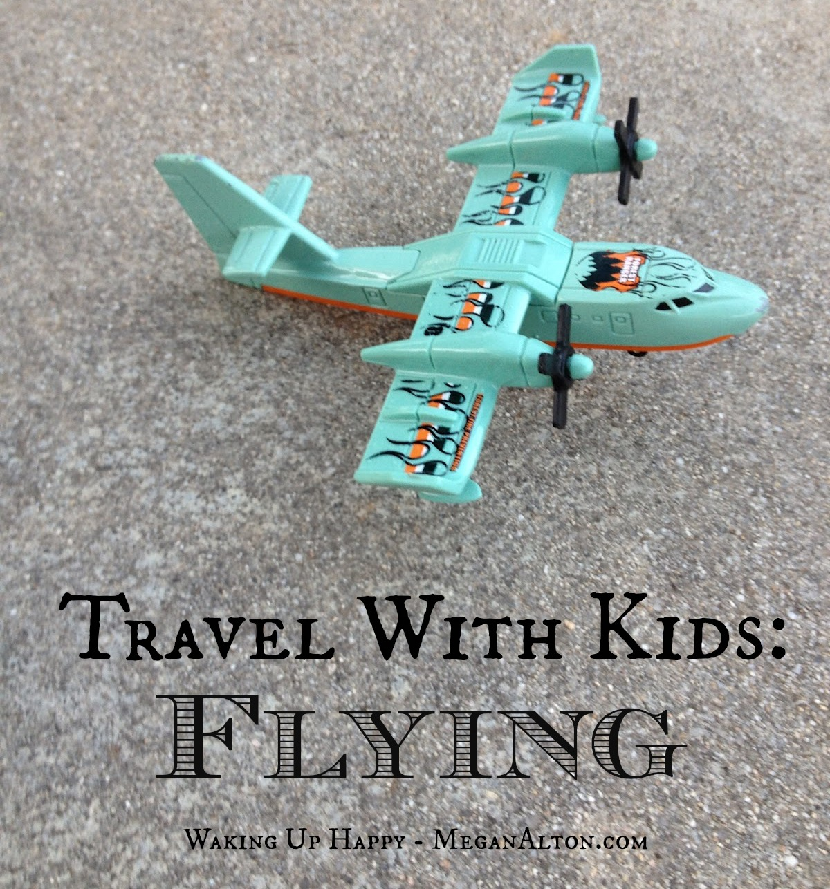 travel with kids flying