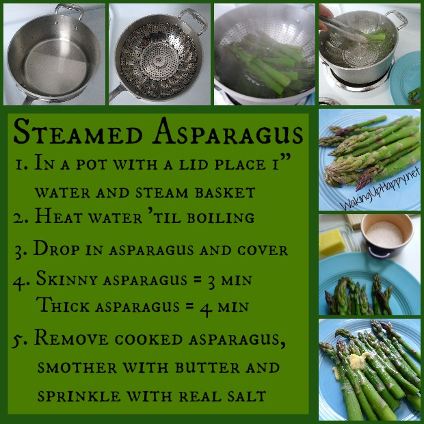 how to cook asparagus so it is not stringy